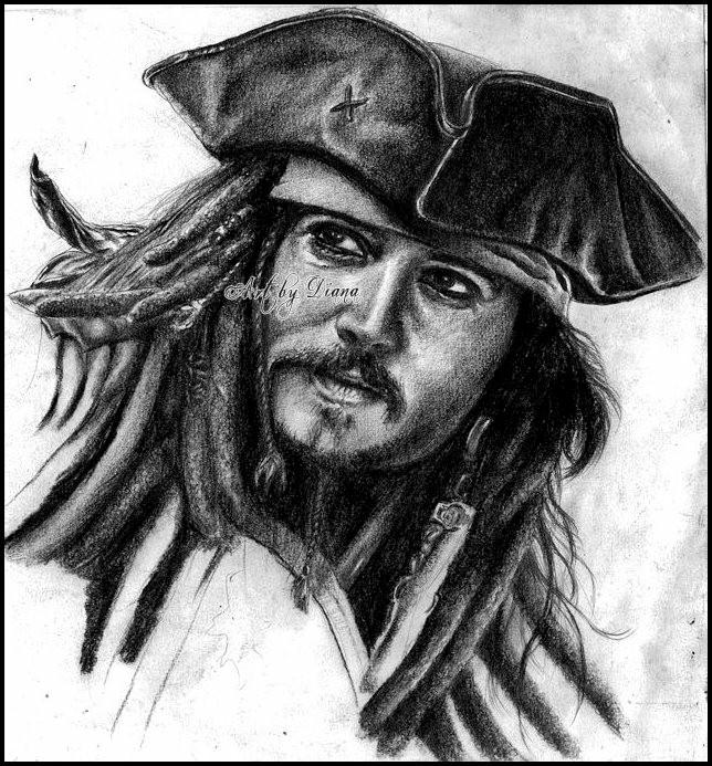 Johnny Depp por Vampire-Countess